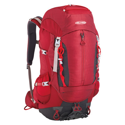 MOCHILA PATRON 45+5L TRANGO COLOR BORDEOS